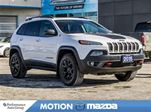 2015 Jeep Cherokee Trailhawk 4X4 Pano-roof+ Winter Tire Pkg in Orangeville, Ontario