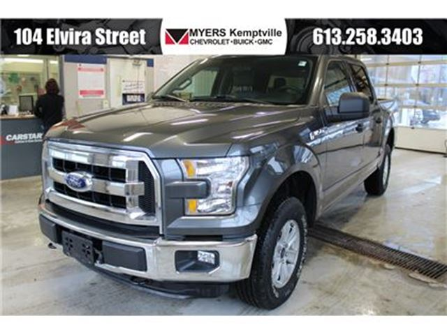 2016 ford f 150 xlt crew cab kemptville ontario used car for sale 2721092. Black Bedroom Furniture Sets. Home Design Ideas