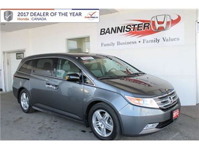 2012 Honda Odyssey Touring in Vernon, British Columbia