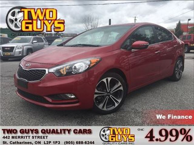 2015 KIA FORTE 2.0L LOADED EX MODEL SUNROOF ALLOYS in St Catharines, Ontario