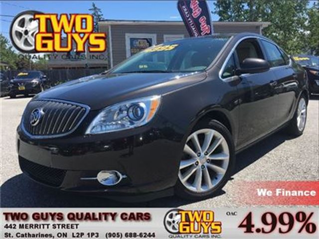 2014 BUICK VERANO LOW KMS ALLOYS GREAT SAFETY RATINGS!! in St Catharines, Ontario