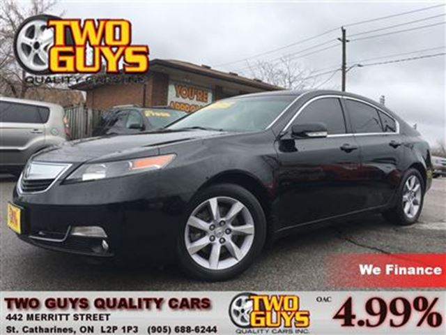 2014 ACURA TL TECH PACKAGE NAV LEATHER ROOF ALLOYS in St Catharines, Ontario