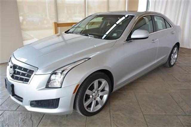 2014 cadillac ats base with leather sunroof bose audio milton ontario used car for sale. Black Bedroom Furniture Sets. Home Design Ideas