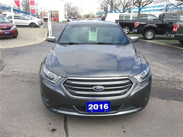 2016 ford taurus limited awd burlington ontario used car for sale 2721747. Black Bedroom Furniture Sets. Home Design Ideas