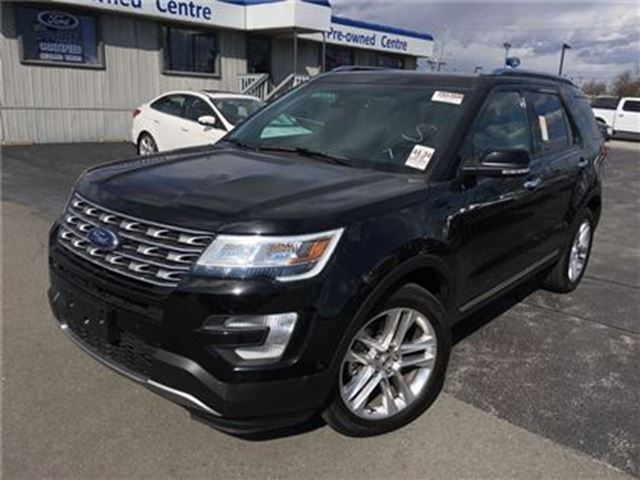 2016 ford explorer limited awd burlington ontario car. Black Bedroom Furniture Sets. Home Design Ideas