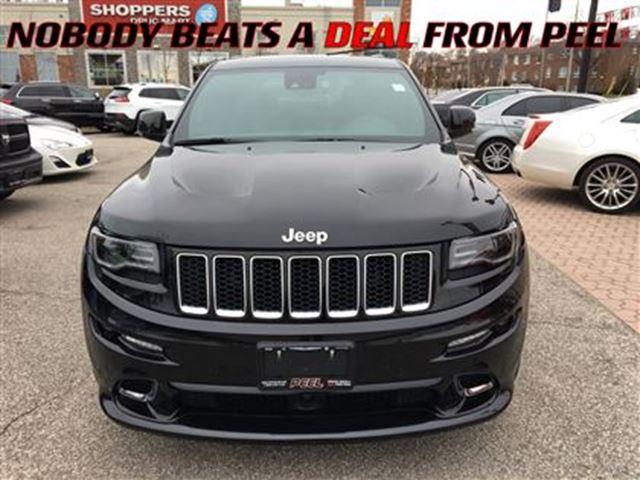 2016 jeep grand cherokee srt 475 hp mississauga ontario used car for sale 2722093. Black Bedroom Furniture Sets. Home Design Ideas