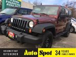 2007 Jeep Wrangler XLimited/2TOPS/METICULOUSLY MAINTAINED!/RARE/STD in Kitchener, Ontario