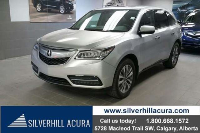 2014 ACURA MDX Navigation Package SH-AWD *Local 1 Owner* in Calgary, Alberta