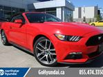 2016 Ford Mustang EcoBoost Premium Leather Convertible in Edmonton, Alberta