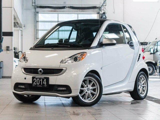 2014 smart fortwo electric drive passion white kelowna for Smart car mercedes benz