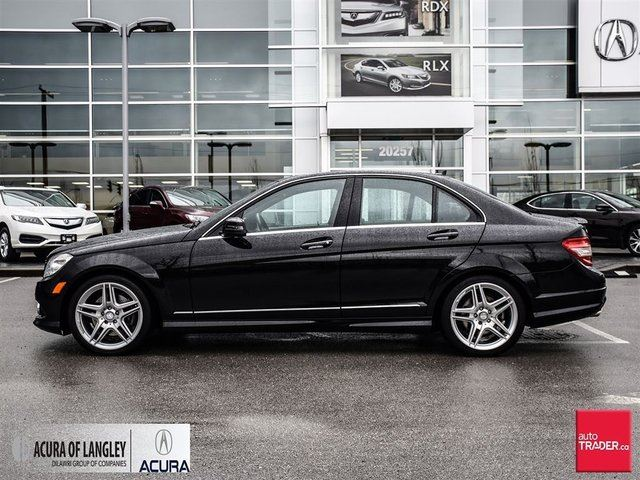 2010 mercedes benz c class sedan surrey british for Mercedes benz 2010 c class