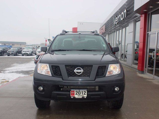 2012 nissan frontier pro 4x kelowna british columbia used car for sale 2721299. Black Bedroom Furniture Sets. Home Design Ideas