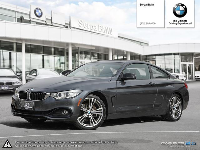 2014 bmw 428i xdrive coupe newmarket ontario used car. Black Bedroom Furniture Sets. Home Design Ideas
