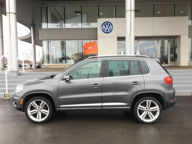 2013 volkswagen tiguan highline r line hamilton ontario. Black Bedroom Furniture Sets. Home Design Ideas