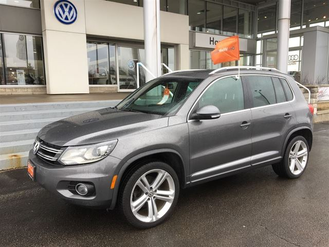 2013 volkswagen tiguan highline r line hamilton ontario car for sale 2721765. Black Bedroom Furniture Sets. Home Design Ideas