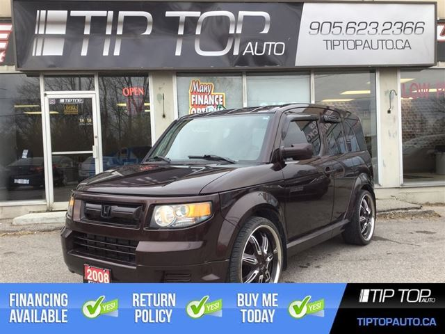 2008 HONDA ELEMENT SC ** Rare, Low KMs, 2 Sets of Rims/Tires ** in Bowmanville, Ontario