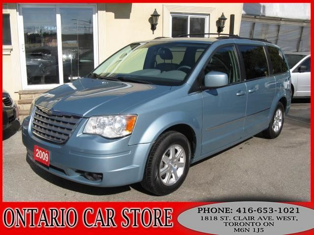 2009 chrysler town country touring leather dual tv dvd blue ontario car store. Black Bedroom Furniture Sets. Home Design Ideas