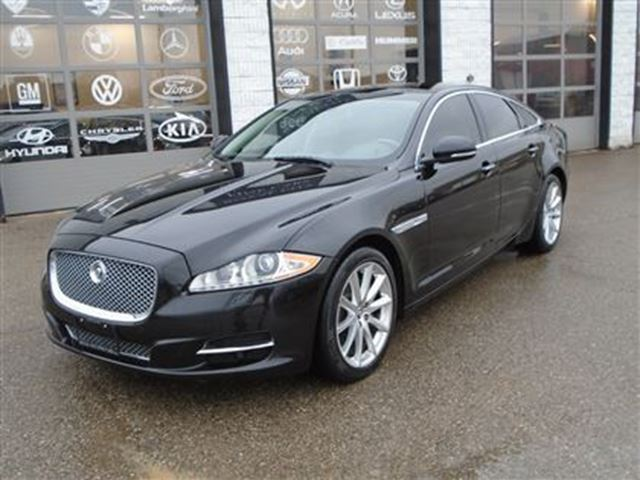 2013 JAGUAR XJ SERIES XJ AWD navigation massage seats no accidents in Guelph, Ontario