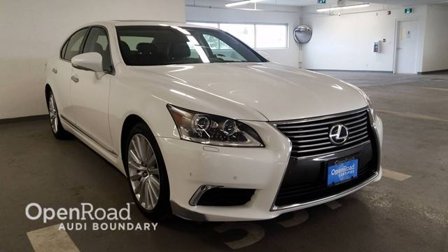 2013 LEXUS LS 460 4dr Sdn RWD SWB in Vancouver, British Columbia