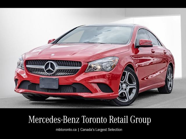 2015 mercedes benz cla250 4matic coupe markham ontario used car for sale 2721758. Black Bedroom Furniture Sets. Home Design Ideas