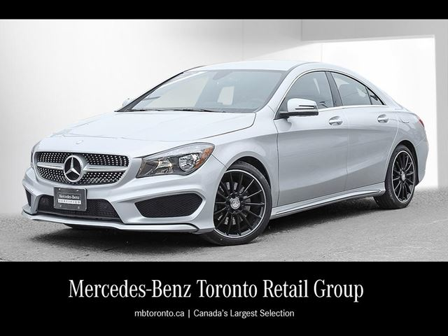 2016 mercedes benz cla250 4matic coupe toronto ontario for Mercedes benz cla250 4matic