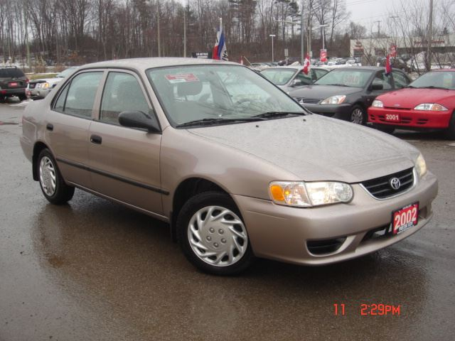 2002 Toyota Corolla CE Only 153km No Accident in Cambridge, Ontario
