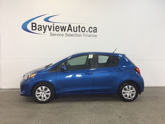 2015 TOYOTA YARIS LE- AUTO! A/C! BLUETOOTH! CRUISE! GAS BUDDY! in Belleville, Ontario