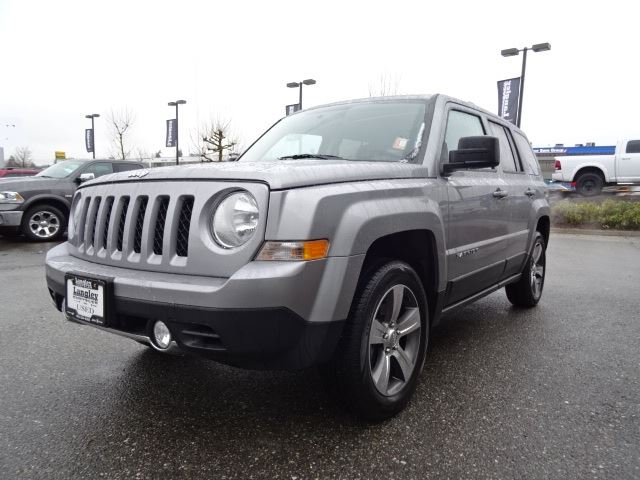 2016 jeep patriot sport north accident free w 4x4 leather sunroof surrey british columbia. Black Bedroom Furniture Sets. Home Design Ideas