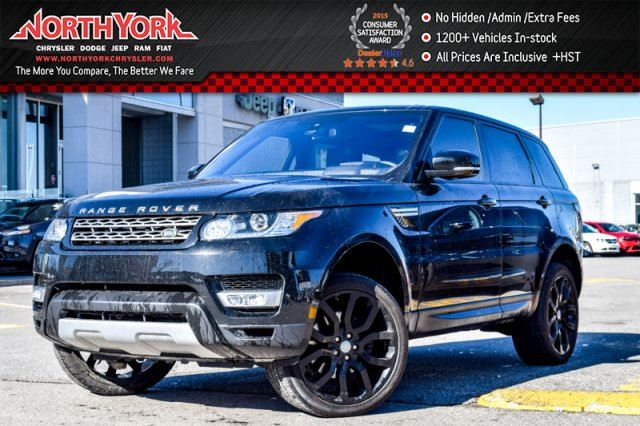 2016 land rover range rover sport v6 hse 4x4 frontclimatepkg sunroof nav meridian 22alloys. Black Bedroom Furniture Sets. Home Design Ideas