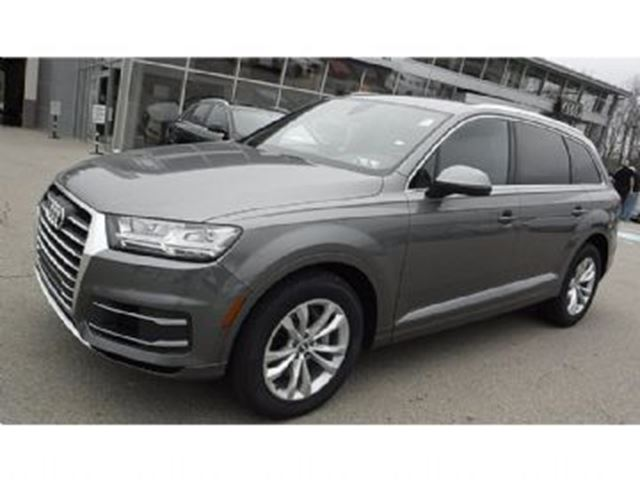 2017 Audi Q7 Brand New Komfort With Navigation Backup Camera And 20 Dark Grey Lease Busters
