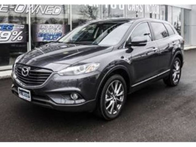 2015 mazda cx 9 cx 9 awd gt w navi and leather mississauga ontario used car for sale 2722350. Black Bedroom Furniture Sets. Home Design Ideas