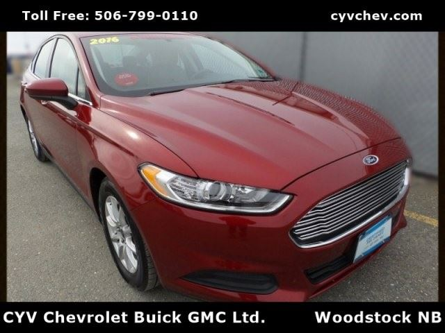 2016 Ford Fusion S in Woodstock, New Brunswick