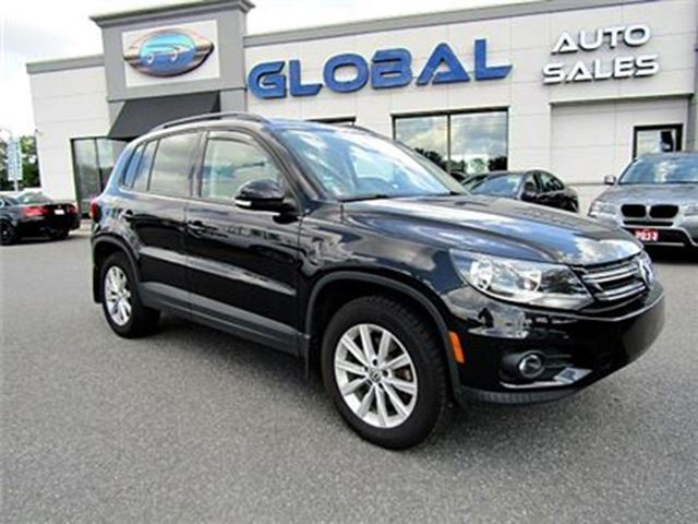 2012 Volkswagen Tiguan 2.0 TSI Comfortline (A6)***low mileage*** LEATHER in Ottawa, Ontario