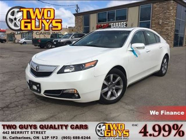 2012 ACURA TL LEATHER SUNROOF FWD ALLOYS in St Catharines, Ontario