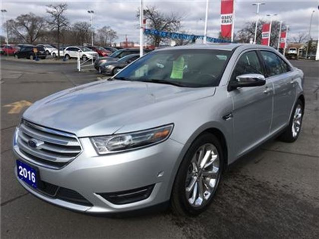 2016 ford taurus limited awd burlington ontario used car for sale 2723195. Black Bedroom Furniture Sets. Home Design Ideas