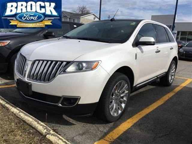 2014 lincoln mkx base no accidents 1 owner local trade niagara falls ontario used car for. Black Bedroom Furniture Sets. Home Design Ideas