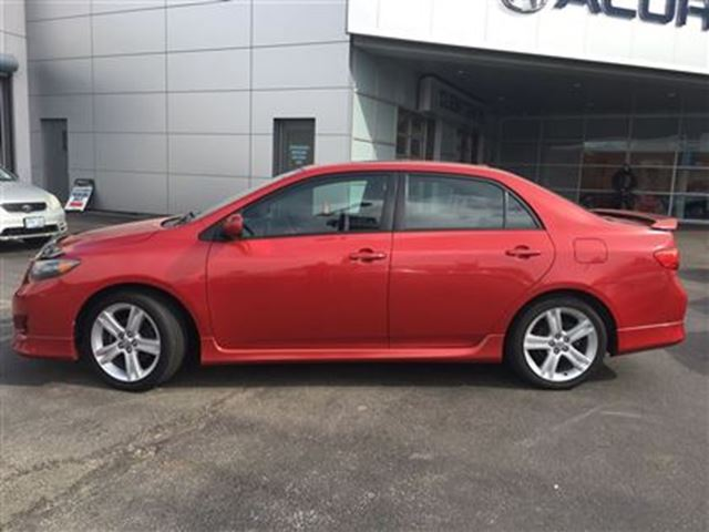 2009 toyota corolla xrs safety etest 5speed 2setsoftires burlington ontario used car for sale. Black Bedroom Furniture Sets. Home Design Ideas