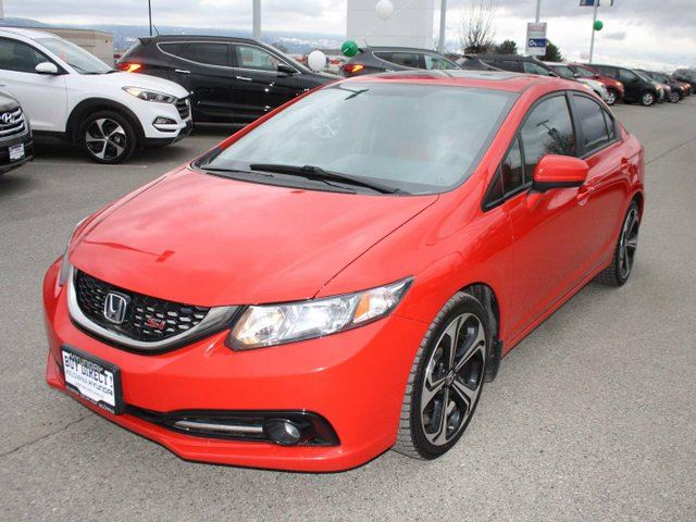 2014 honda civic si 4dr sedan kelowna british columbia car for sale 2722767. Black Bedroom Furniture Sets. Home Design Ideas