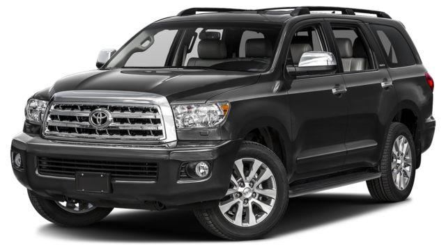 2017 toyota sequoia limited 5 7l 6a grey hallmark toyota. Black Bedroom Furniture Sets. Home Design Ideas
