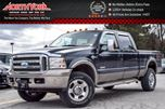 2005 Ford F-350  XL  4x4 Crew KingRanch Sunroof Nav LeatherSts PkSense  in Thornhill, Ontario