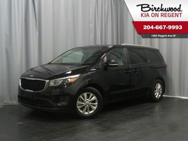 2016 kia sedona lx winnipeg manitoba used car for sale 2724115. Black Bedroom Furniture Sets. Home Design Ideas