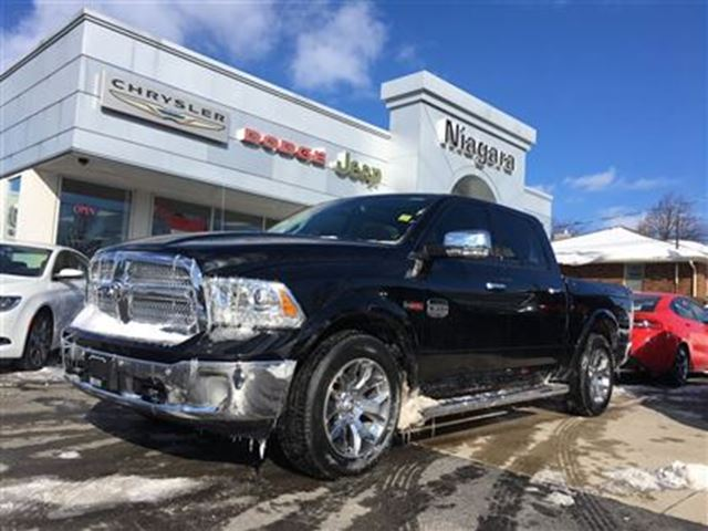 2015 dodge ram 1500 longhorn ecodiesel leather loaded niagara falls ontario used car for. Black Bedroom Furniture Sets. Home Design Ideas