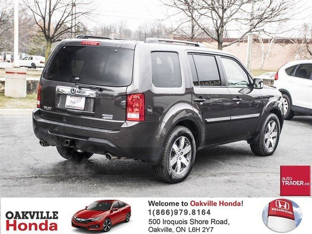 2015 honda pilot touring 4wd 5at oakville ontario used car for sale 2725174. Black Bedroom Furniture Sets. Home Design Ideas