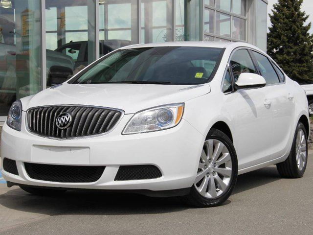 2016 BUICK VERANO Certified   CX Package   Remote Start   Rear Vision Camera   Intellilink Media Player in Kamloops, British Columbia