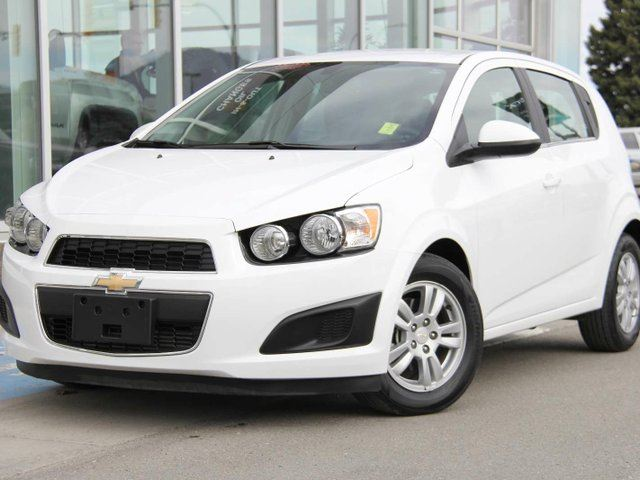 2016 Chevrolet Sonic Certified | Turbocharged | Remote Vehicle Start | Chevrolet MyLink | Rear Vision Camera | Bluetooth in Kamloops, British Columbia