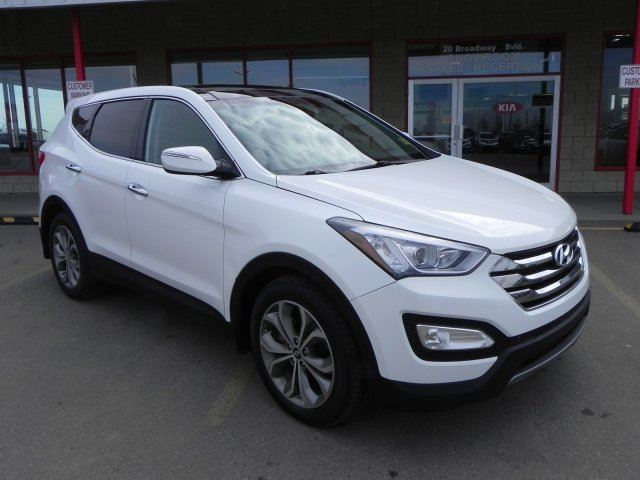 2013 HYUNDAI SANTA FE AWD SPORT TURBO Accident Free, Leather, Heated Seats, Panoramic Roof, Back-up Cam, Bluetooth, in Sherwood Park, Alberta