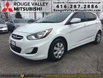 2014 Hyundai Accent GL, ONE OWNER, NO ACCIDENT !!!! in Scarborough, Ontario