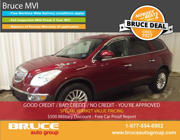 2011 BUICK ENCLAVE CXL 3.6L 6 CYL AUTOMATIC AWD in Middleton, Nova Scotia