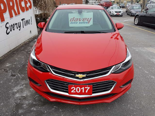 2017 chevrolet cruze premier auto leather interior heated seats remote start oshawa ontario. Black Bedroom Furniture Sets. Home Design Ideas