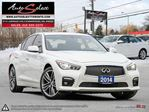 2014 Infiniti Q50 AWD SPORT ONLY 75K! **TECHNOLOGY PKG** CLEAN CARPROOF in Scarborough, Ontario